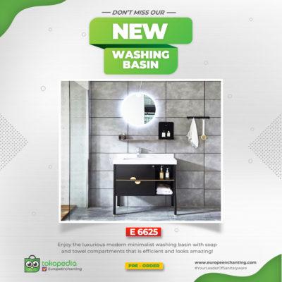 New - Washing Basin E6225